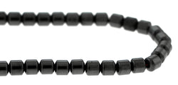 5mm Magnetic Hematite Drum Mh09 - Mi Amore