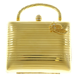 Mi Amore Womans Hat Clutch-Purse Gold