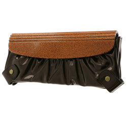 Mi Amore Clutch-Purse Copper/Bronze-Tone