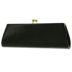 Mi Amore Clutch-Purse Black/Gold-Tone