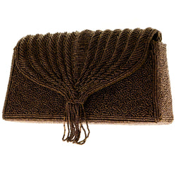 Mi Amore Clutch-Purse Bronze/Silver-Tone