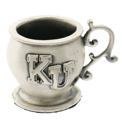 Mi Amore College Football Kansas Decorative-Paper-Weight Pewter