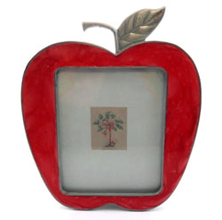 Small apple shaped picture frame PF25