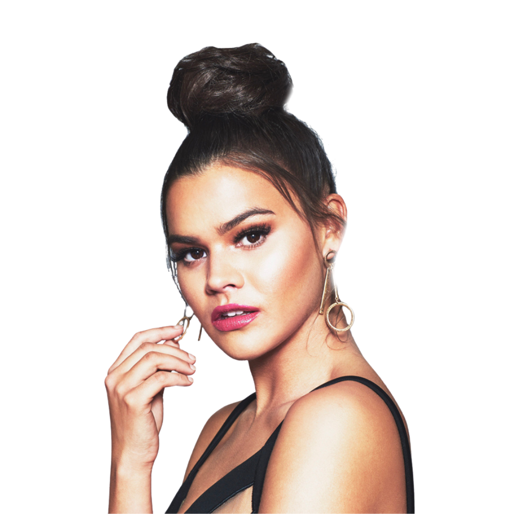 Clip-on Bun/ Top Knot - Burgundy