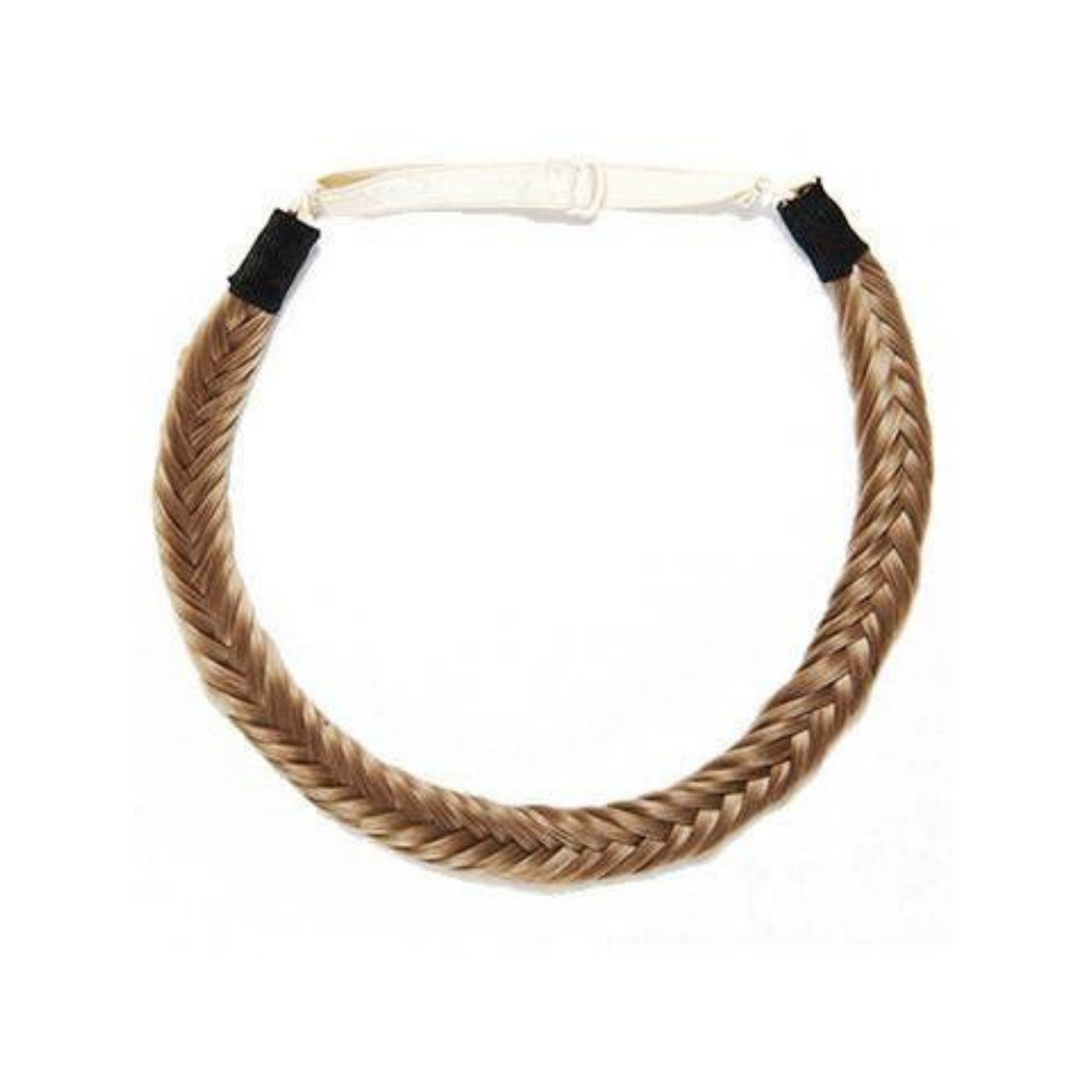 Fishtail Headband - Chestnut