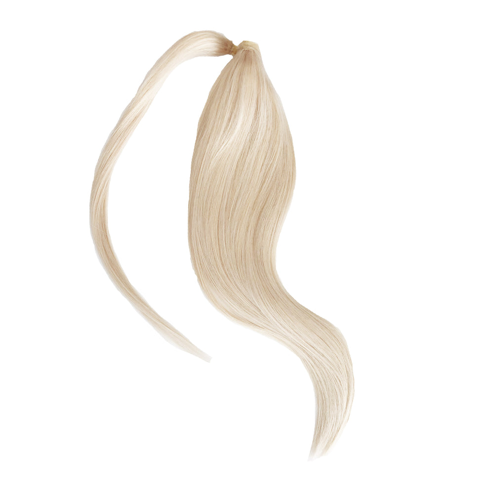 "Luxe Wrap Ponytail 20"" - Ice Blonde"
