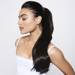 Dual Volume Ponytail - Burgundy