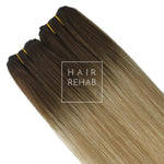 "ORIGINAL CLIP-IN EXTENSIONS 18"" (130 GMS) - ROOTED COACHELLA"