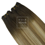 "ORIGINAL CLIP-IN EXTENSIONS 18"" (130 GMS) - ROOTED SUPERMODEL"