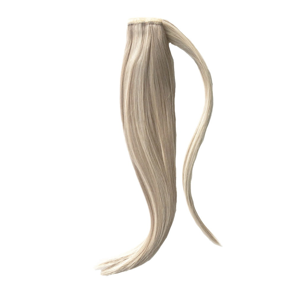 "Luxe Wrap Ponytail 20"" - Steel Blonde"