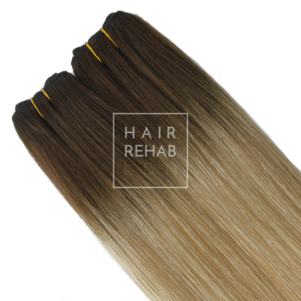 "ULTIMATE CLIP-IN EXTENSIONS 24"" (280GMS) - ROOTED COACHELLA"