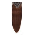 "ULTIMATE CLIP-IN EXTENSIONS 24"" (280GMS) - ROOTED CARAMEL"