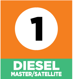 "Circle K 16"" Pump Flags Diesel Master/Satellite"