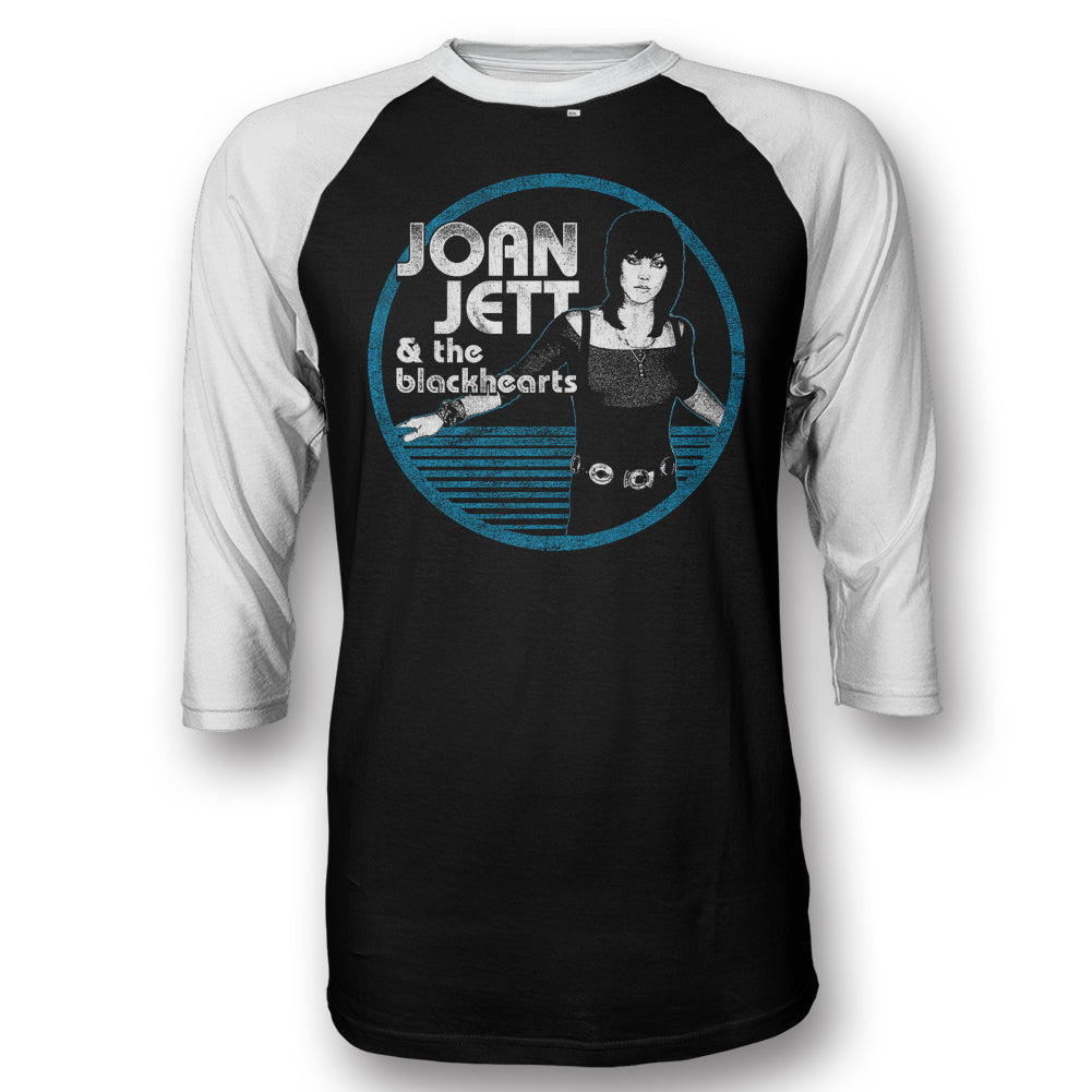 Joan Jett & the Blackhearts Circle Raglan