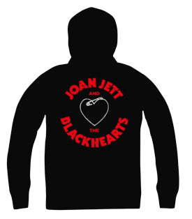 Joan Jett and the Blackhearts Skinny Hoodies