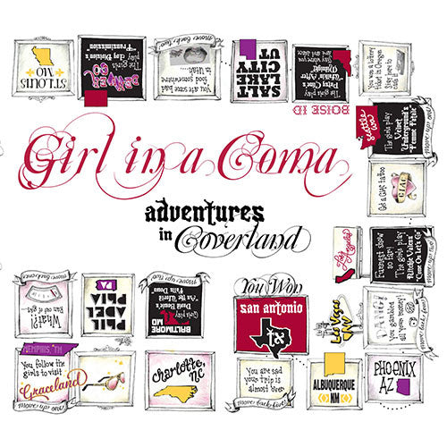 Girl in a Coma - Adventures in Coverland (CD)