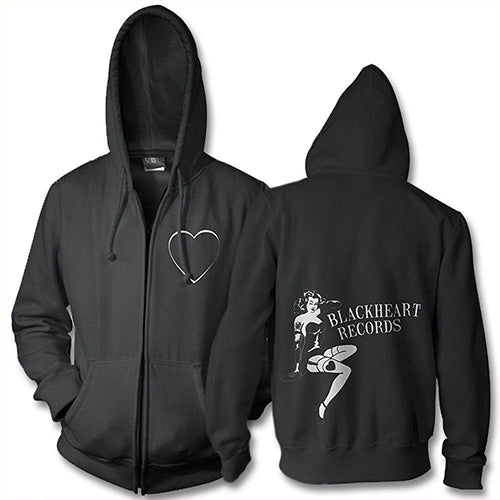 Blackheart Records Pin Up Hoodie