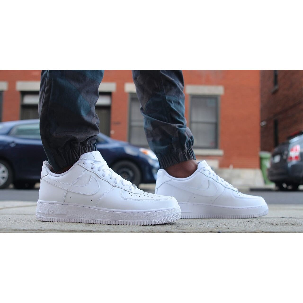 new concept 350a1 5bffa Nike Air Force 1 Low All White Classic
