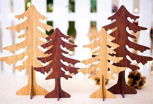 Wooden Forest Decorations - essential.merch