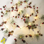 Holiday Forest Garland Lights - essential.merch