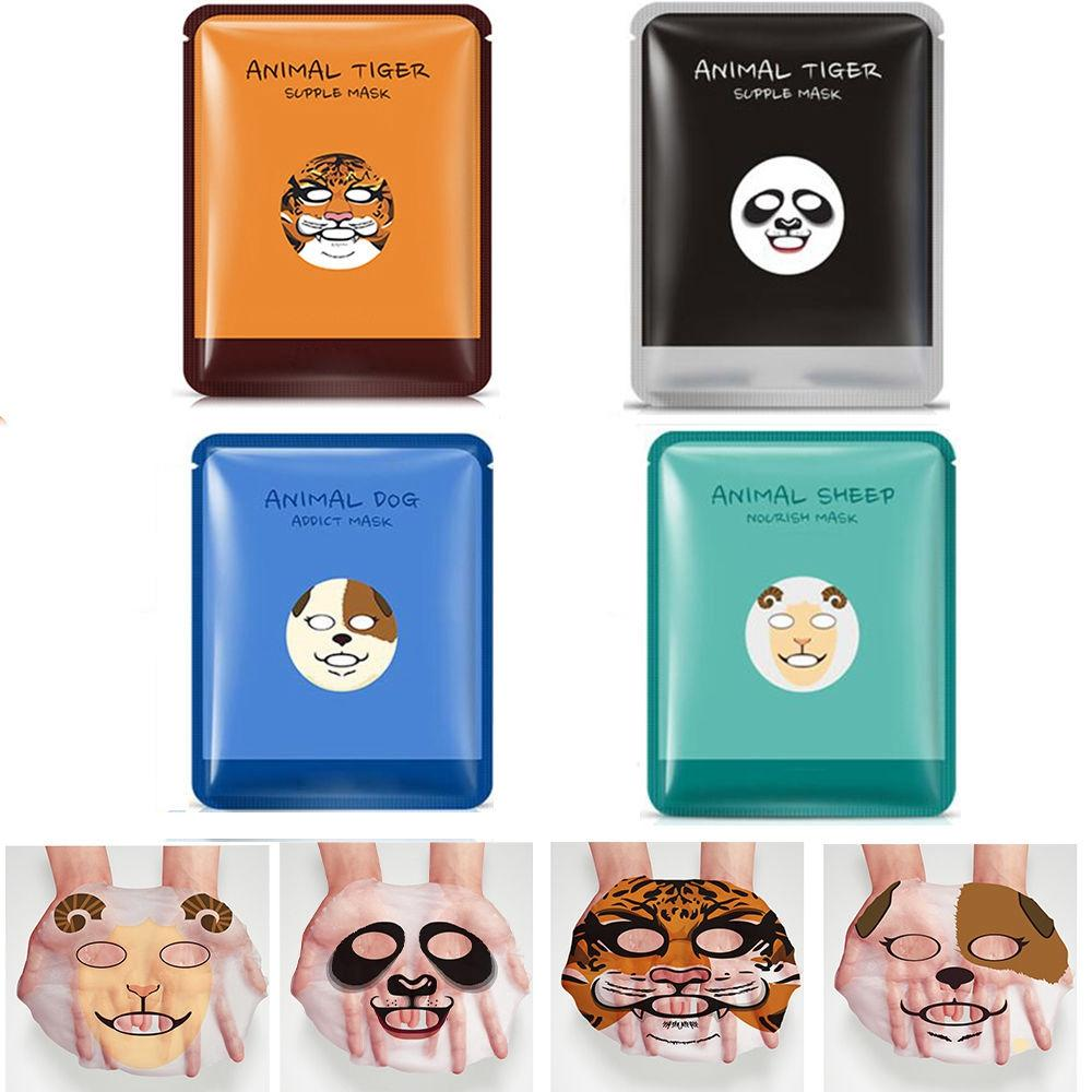 Cute Animal Face Masks x 4 - essential.merch