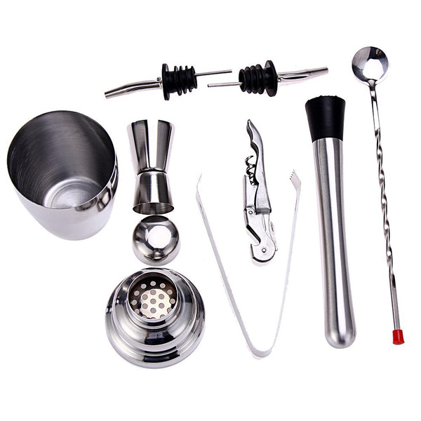 Professional Bartender Cocktail Set - 8 pcs