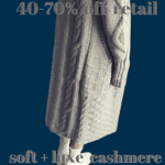 Cashmere Hooded Patterned Cardigan - essential.merch