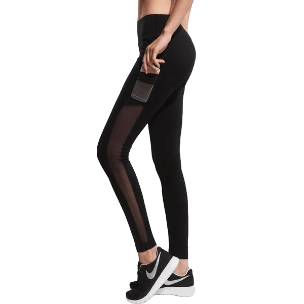 Mesh Sports Leggings with Pocket - essential.merch