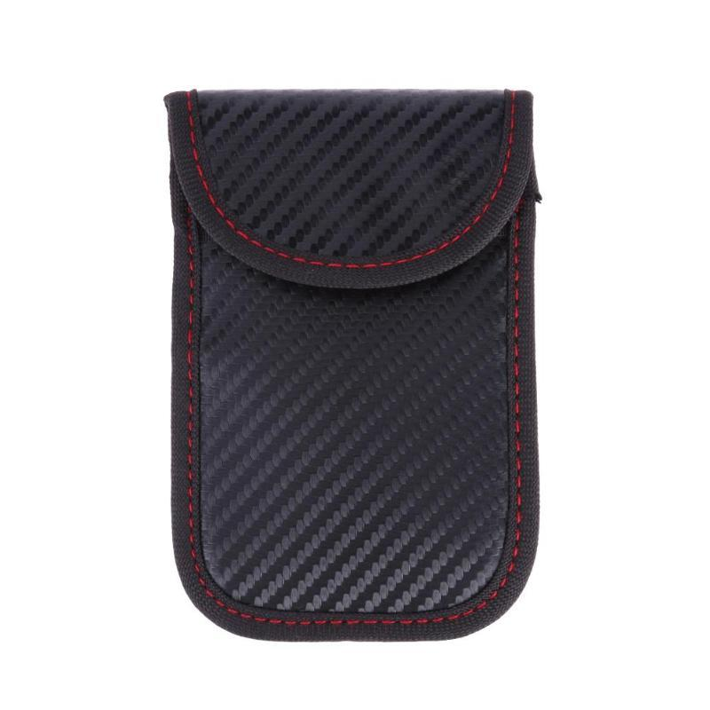 Faraday Carbon Tex Pouch | STOP Car Theft - essential.merch