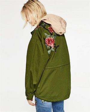 Flora & Fauna Embroidered Jacket - essential.merch
