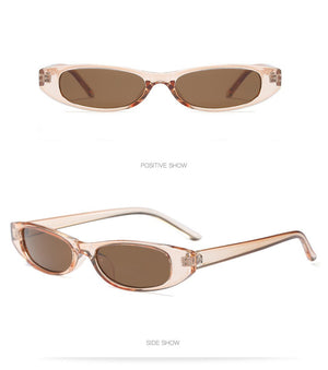 Retro Oval Sunglasses UV400 - essential.merch