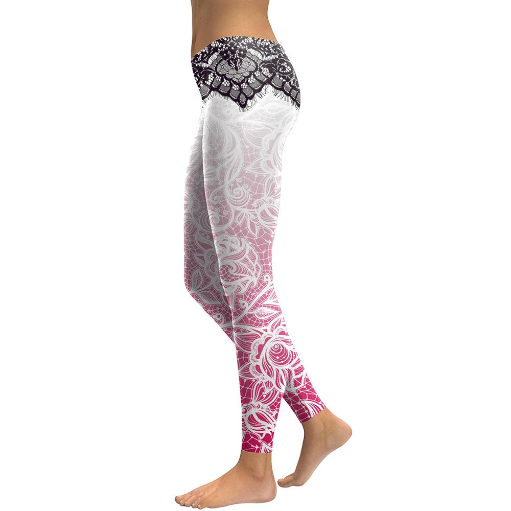 Mandala Flower 3D Printed Leggings - essential.merch