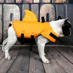 Terrifying Sharkfin Dog Life Vest - essential.merch