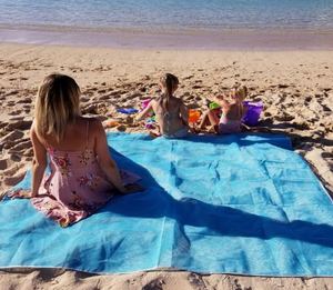 SandFree Mat: Sand & Dirt Slide Through! - essential.merch