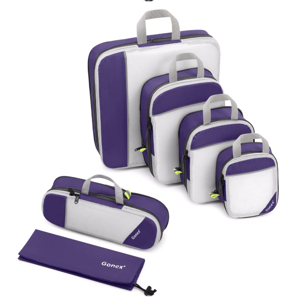 TravelLight™ Compression Packing Cubes - essential.merch