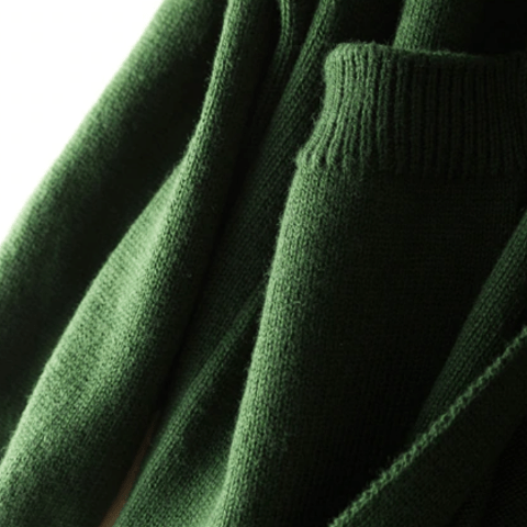 Pure Cashmere Hooded Long Cardigan - essential.merch