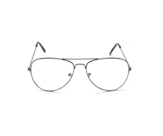 Retro Aviatior Clear Lens Glasses - essential.merch