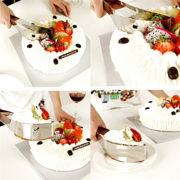 Kitchen: Stainless Steel Cake Slicer and Server