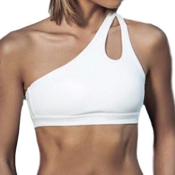 Ladies One Shoulder Bra - essential.merch