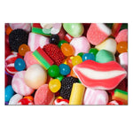 Unframed Art Canvas - CANDY! - essential.merch
