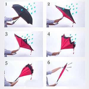 The Best Upside Down Umbrella - essential.merch