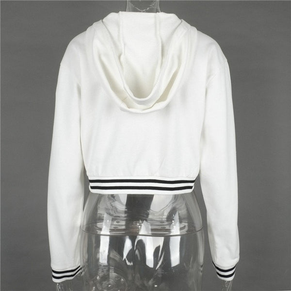 Ladies Lace Up Hoodie