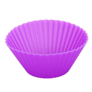 Baking: Silicone Cupcake Liners x 12 - essential.merch