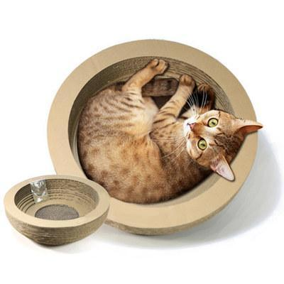 Kitty Bowl Cat Scratcher - essential.merch