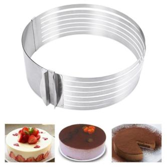 Baking: Stainless Cake Slicer - essential.merch