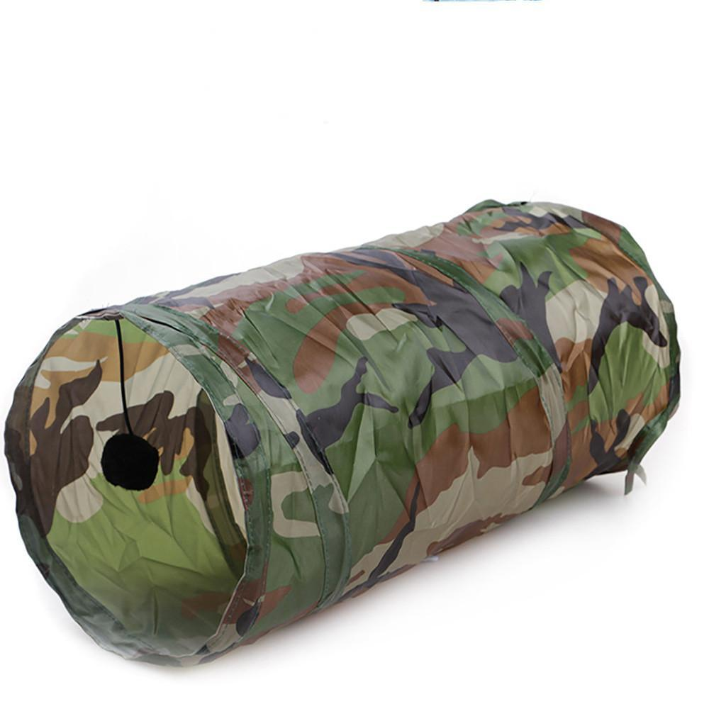 Crinkle Pet Tunnel With Play Ball - essential.merch