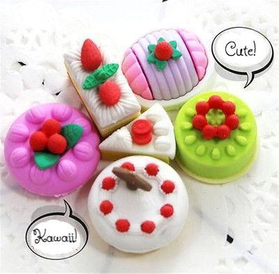 Dessert Eraser Set - 4 pcs - essential.merch
