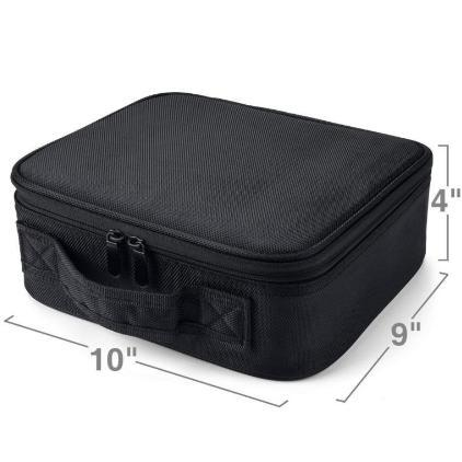 "Pro Makeup Organizer Bag 10"" - essential.merch"