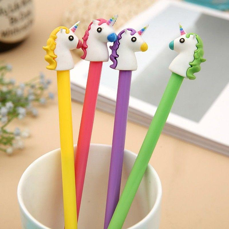 Unicorn Gel Pen - 5 pcs - essential.merch