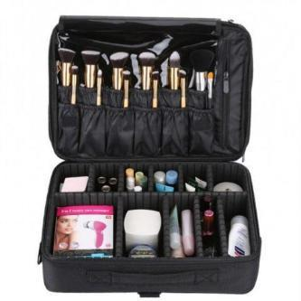 "Jumbo Pro Makeup Organizer Bag 16"" - essential.merch"